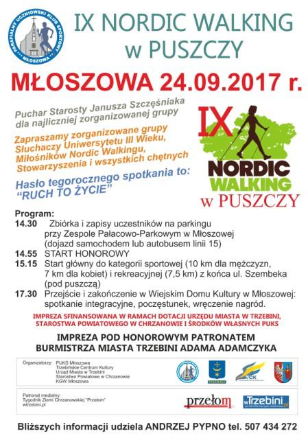 IX Nordic Walking w Puszczy