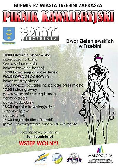 Plakat Piknik Kawaleryjski 2017