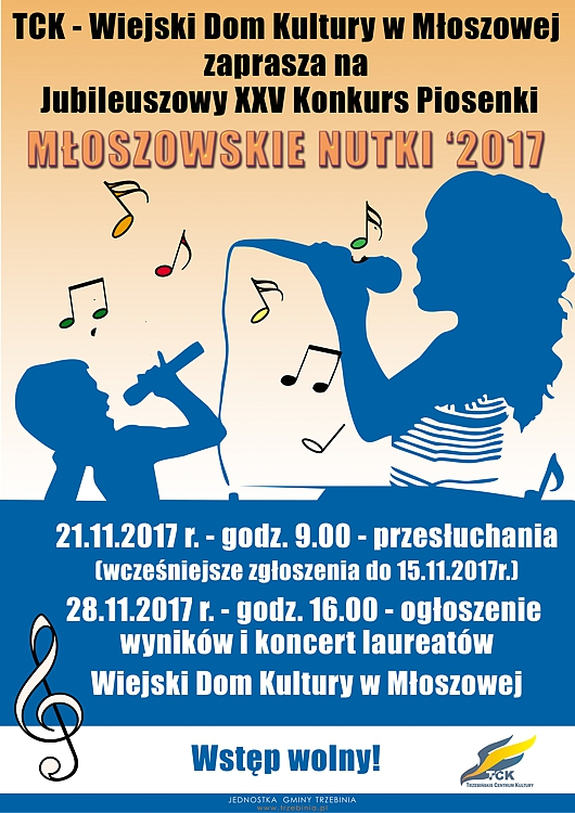 """25. Konkurs """"Młoszowskie Nutki"""""""