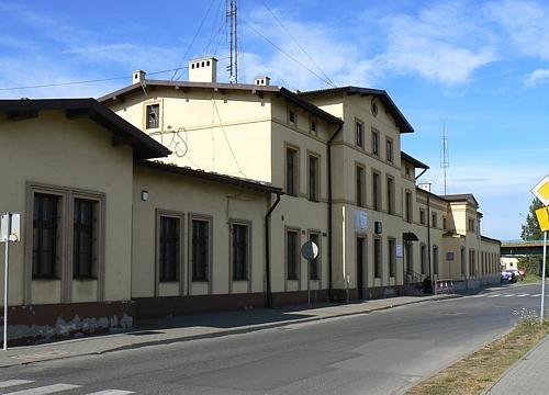 Dworzec w roku 2011