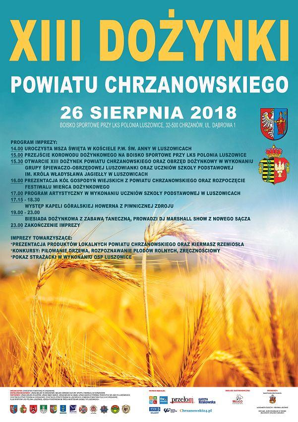 XIII Dożynki Powiatowe 2018
