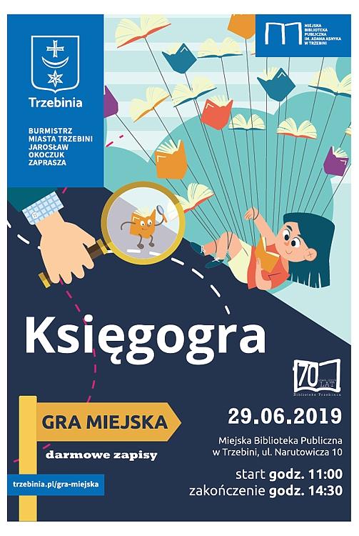 Księgogra gra miejska Trzebinia 2019