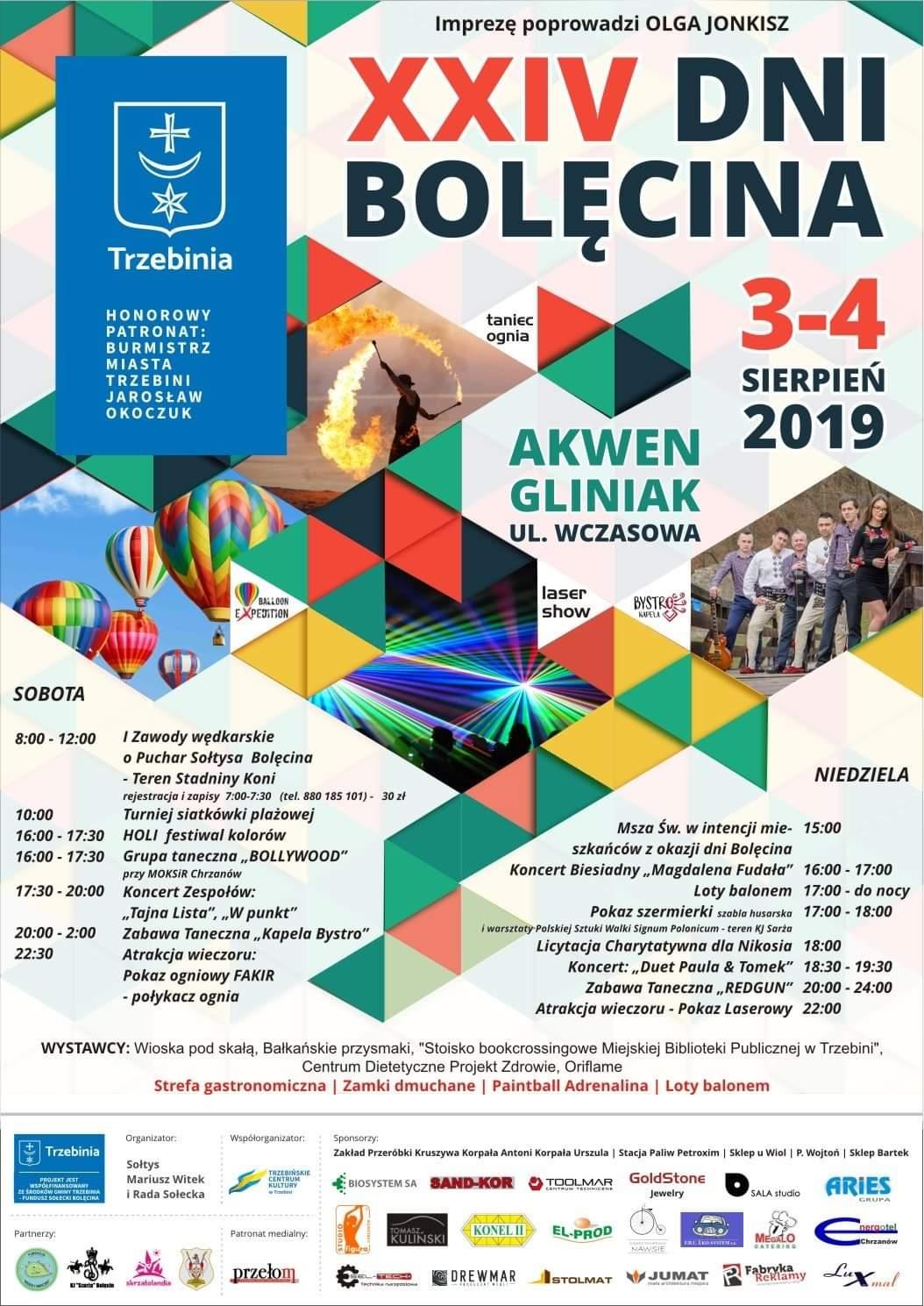 Dni Bolęcina 2019 - plakat