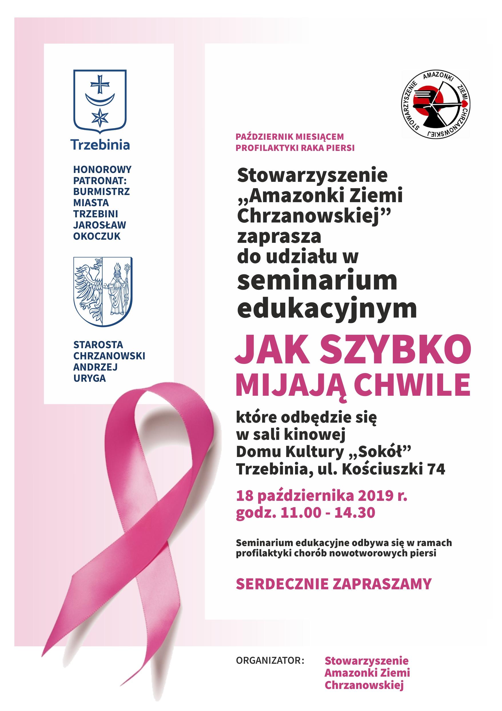 plakat spotkania z Amazonkami