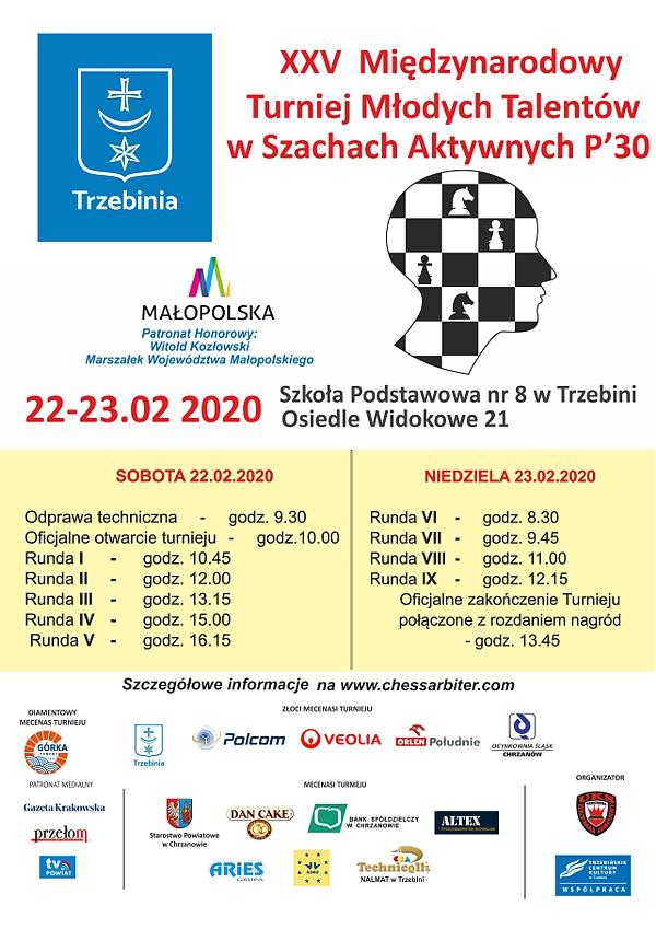 szachy 2020 plakat